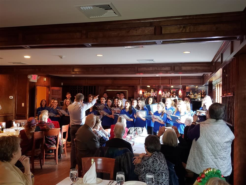 Madrigals sing for North Salem Senior Citizens