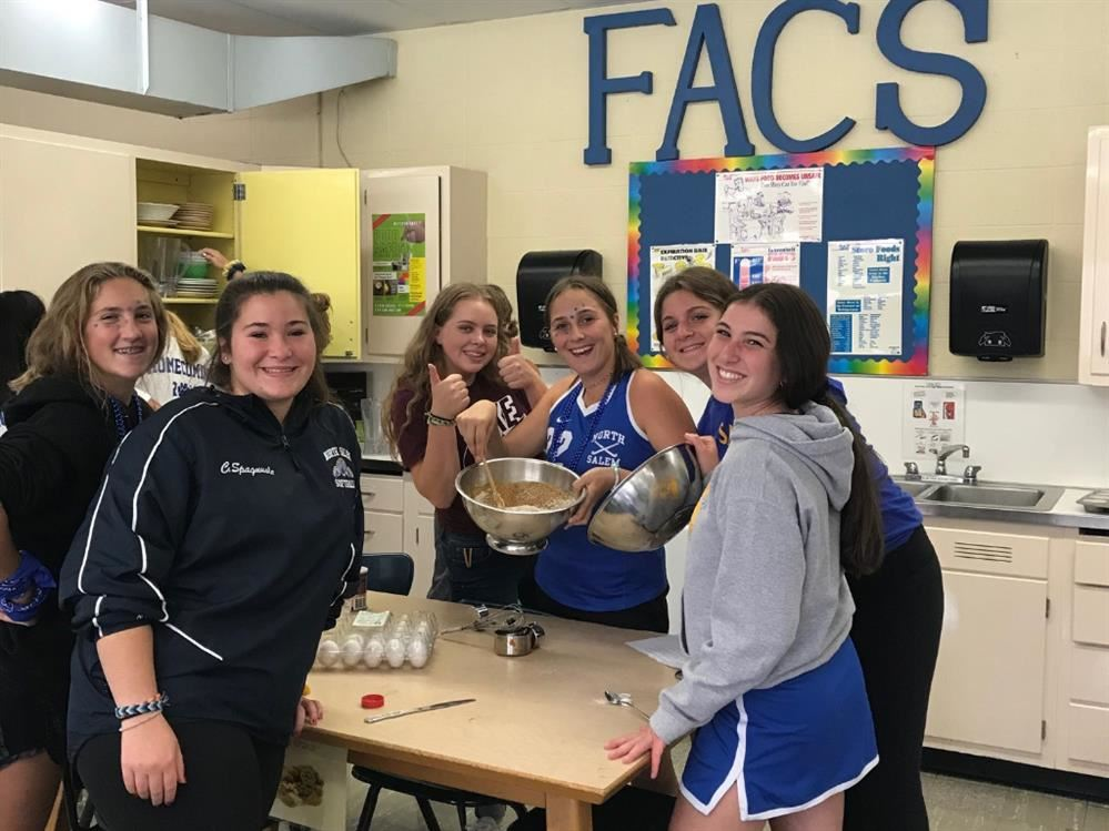 H.S Food & Nutrition- Making Nutritious & Delicious Muffins for Open House